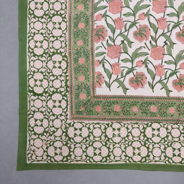 Double Bedsheet Handblock BHD193