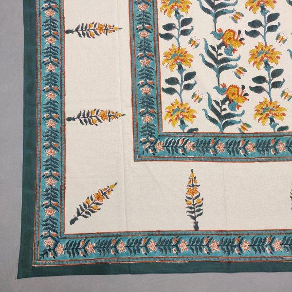 Double Bedsheet Handblock BHD201