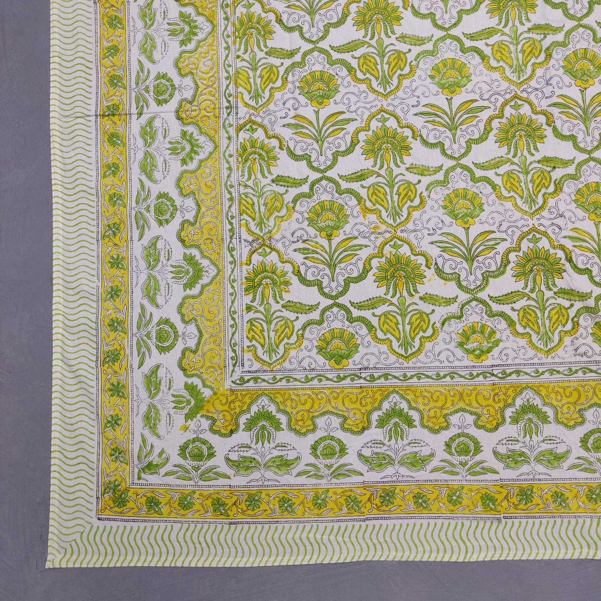 Double Bedsheet Handblock BHD204