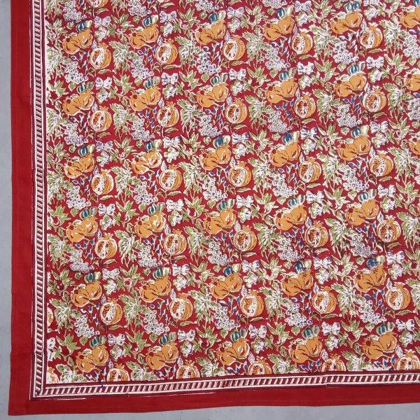Red Dinya Double Bedsheet