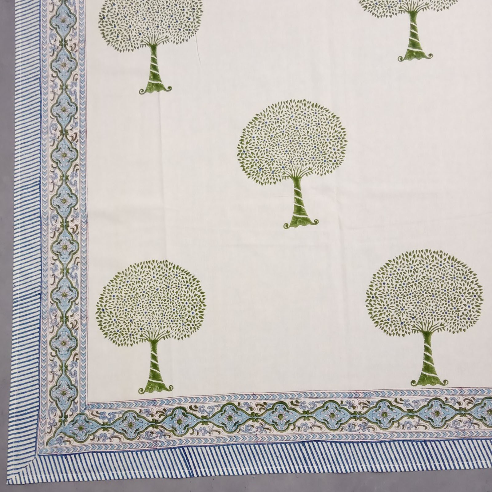 Tree Green Double Bedsheet