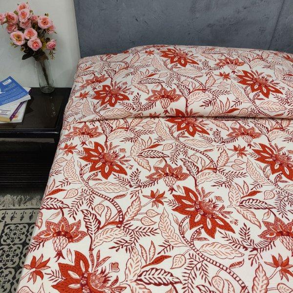 Double Bedsheet Handblock BHD90
