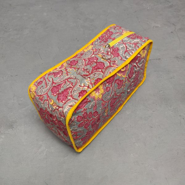 Handblock Canvas Shoe Bag ASB13