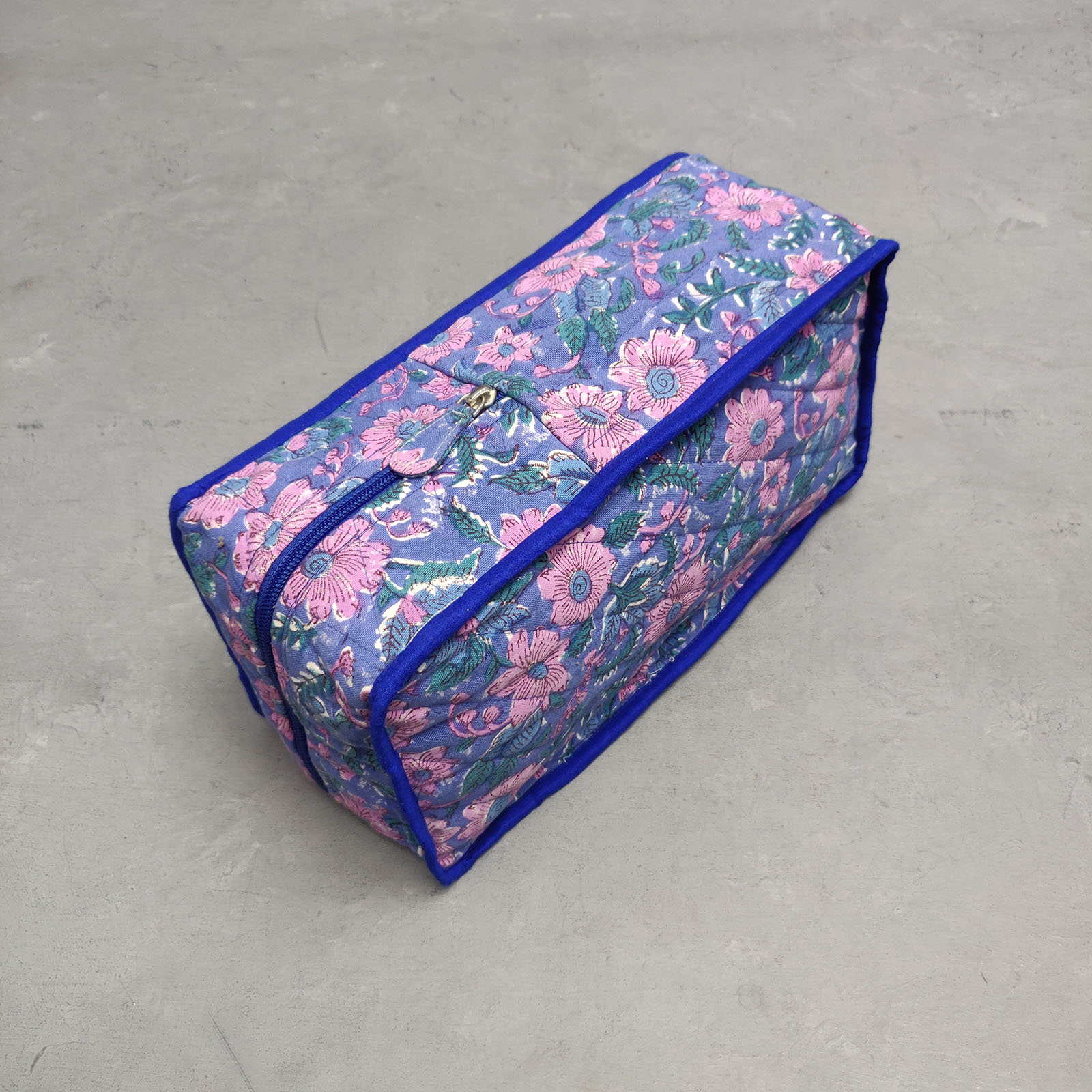 Handblock Canvas Shoe Bag ASB15