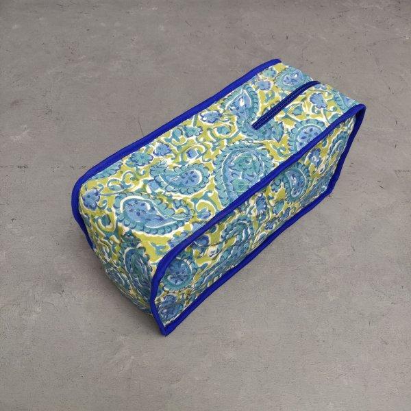 Handblock Canvas Shoe Bag ASB17