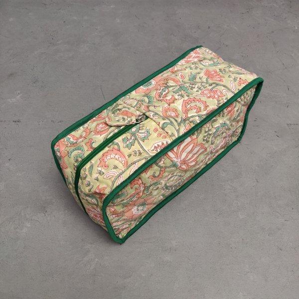 Handblock Canvas Shoe Bag ASB18