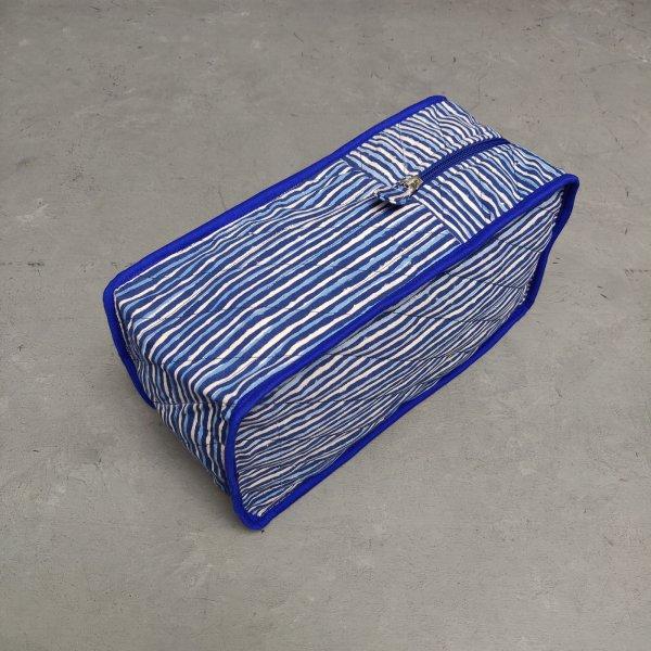 Handblock Canvas Shoe Bag ASB19