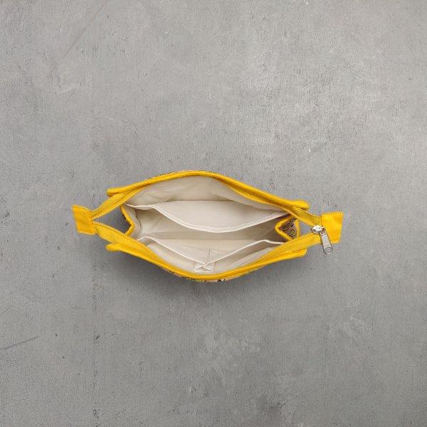 Small Toilet Pouch Canvas Handblock STP28