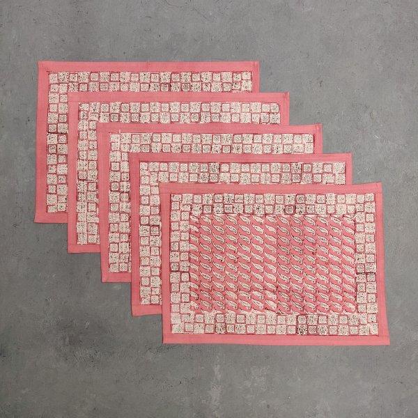 Handblock Table Mats TN11