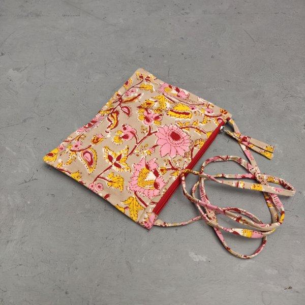 Floral Canvas Sling Bag SLB16