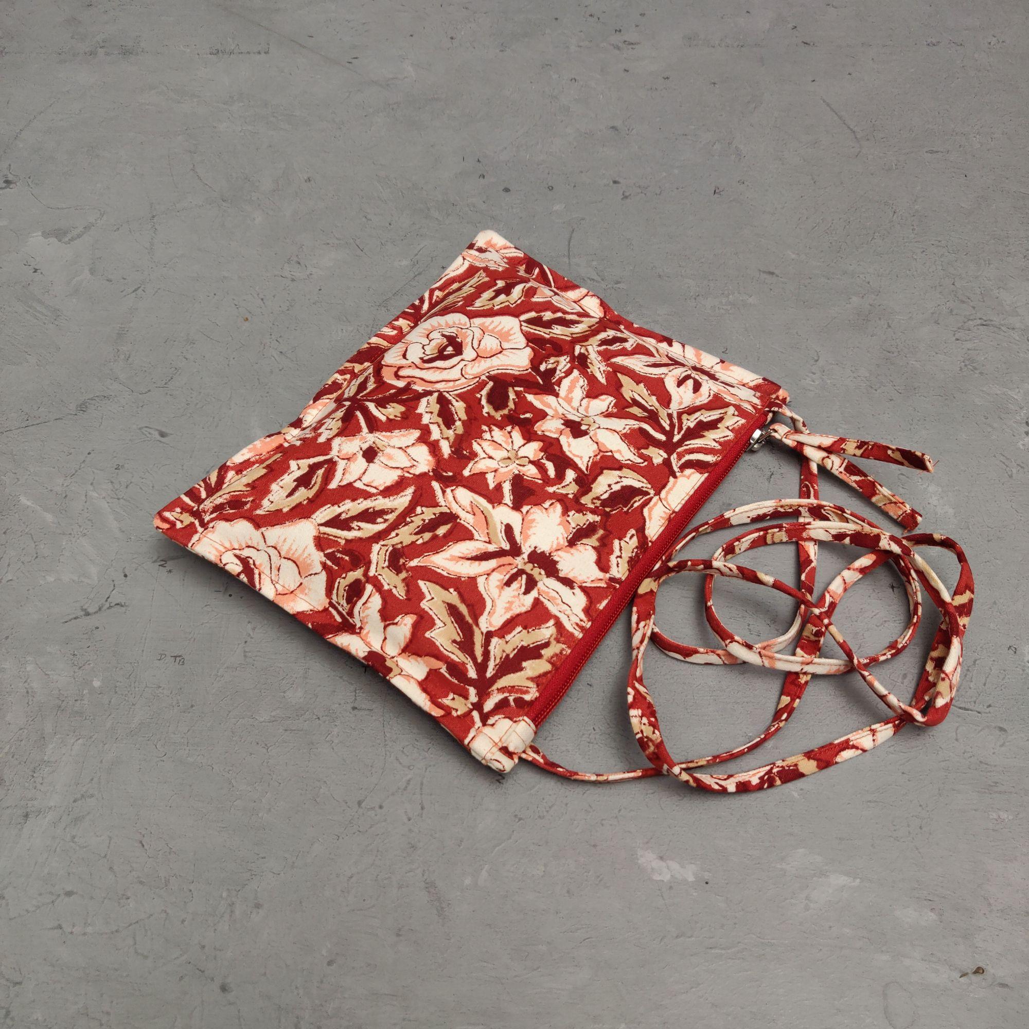Floral Canvas Sling Bag SLB18