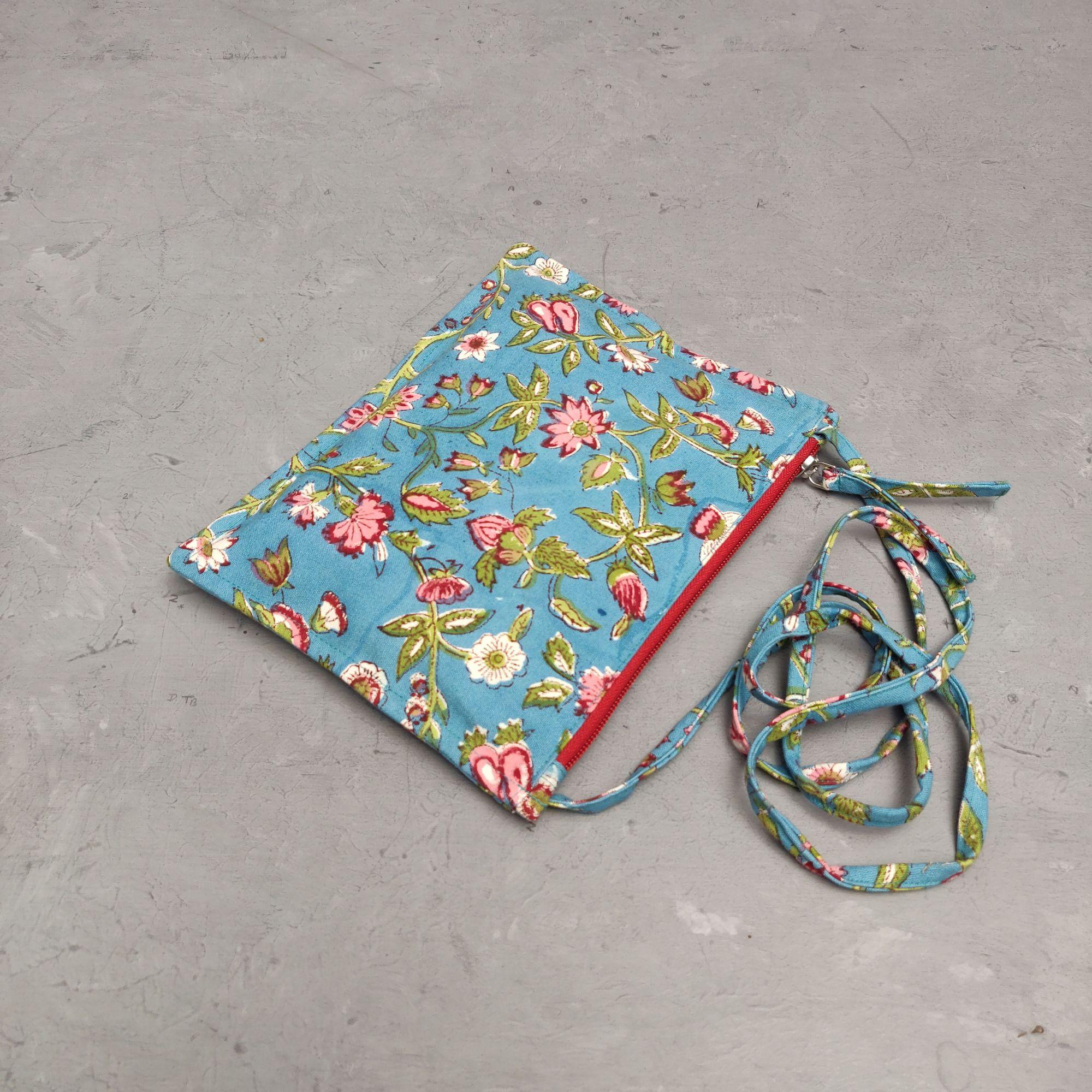 Floral Canvas Sling Bag SLB21