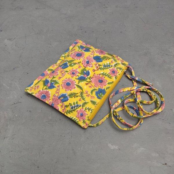 Floral Canvas Sling Bag SLB25