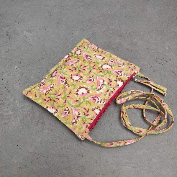 Floral Canvas Sling Bag SLB31