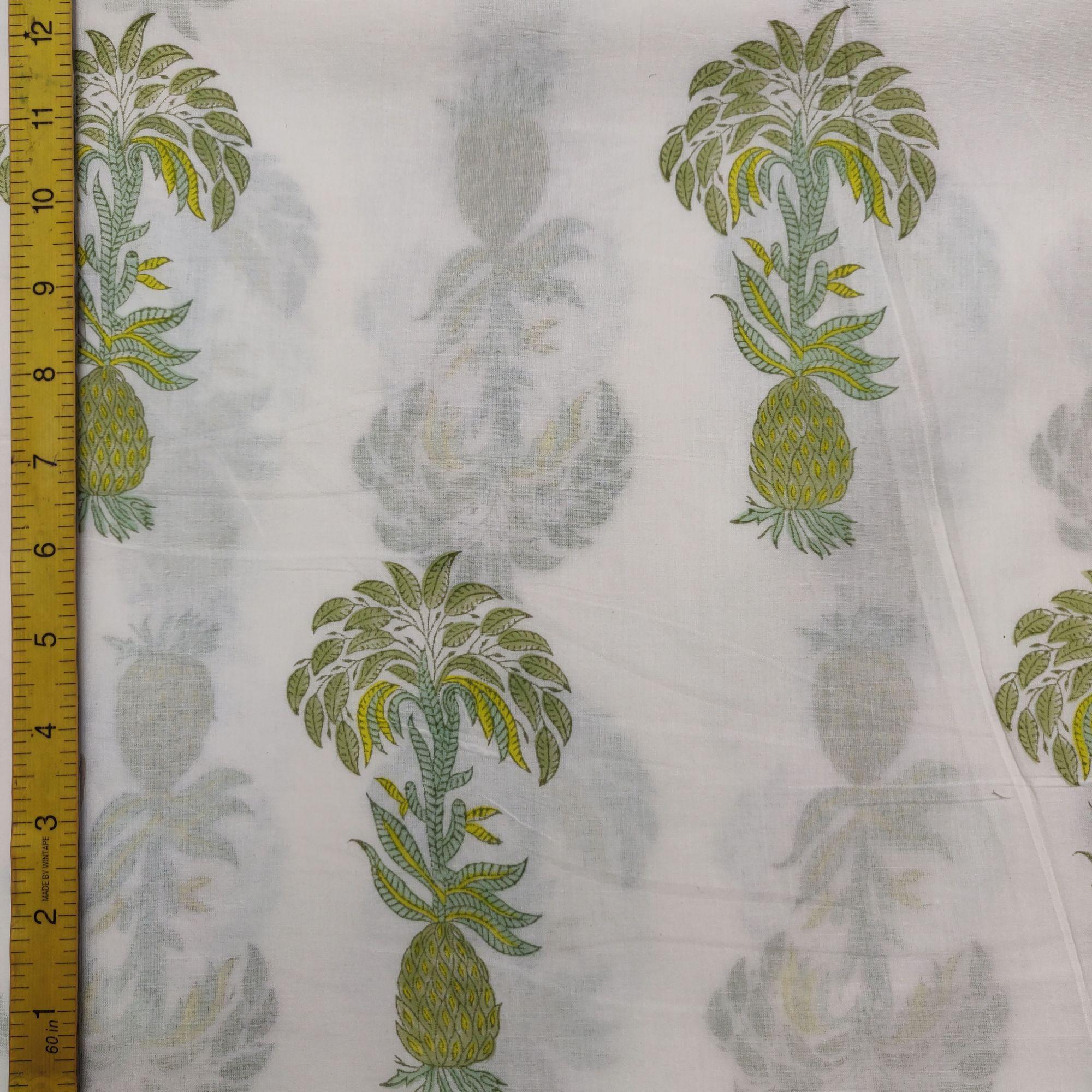 Cotton Handblock Fabric JMF100