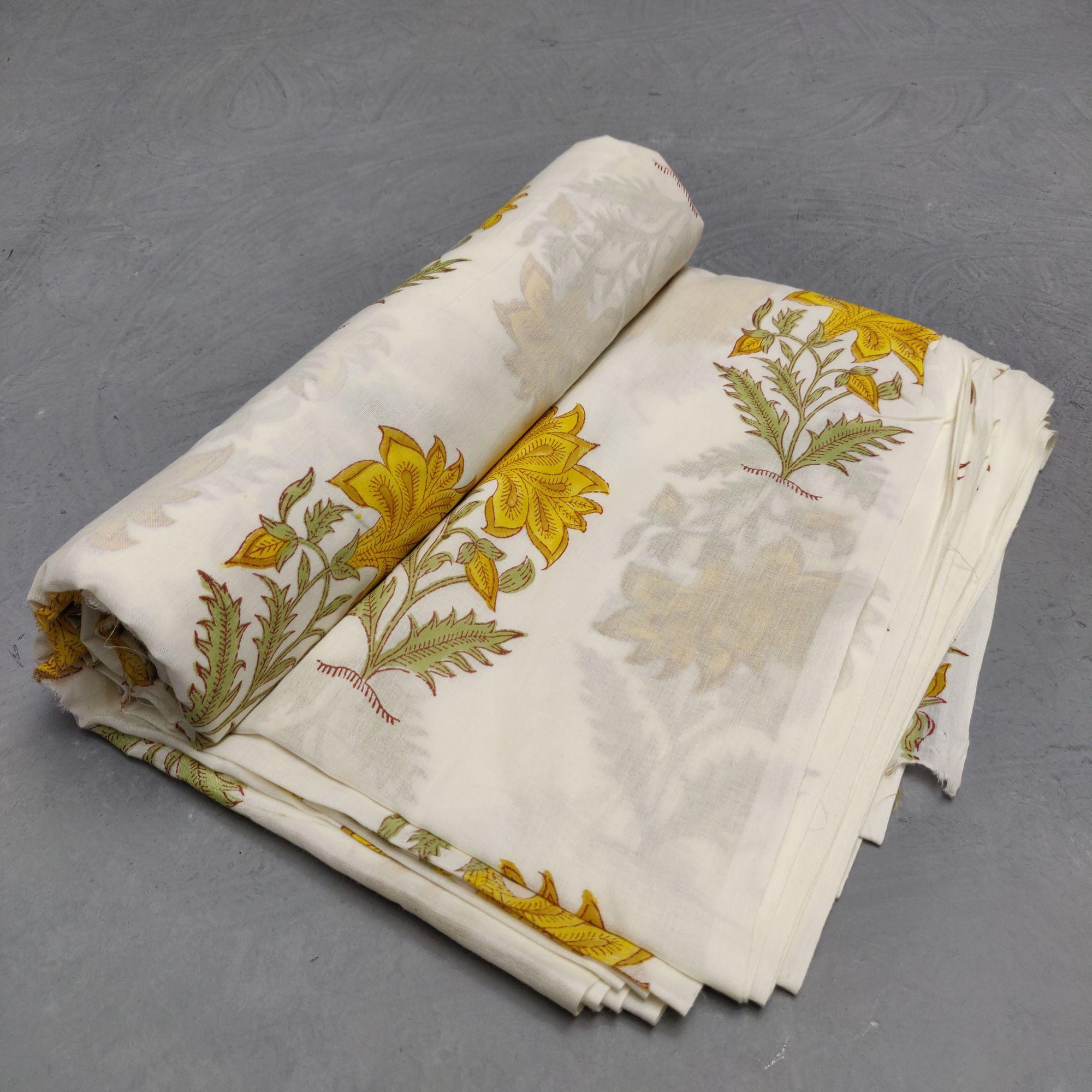 Cotton Handblock Fabric JMF107