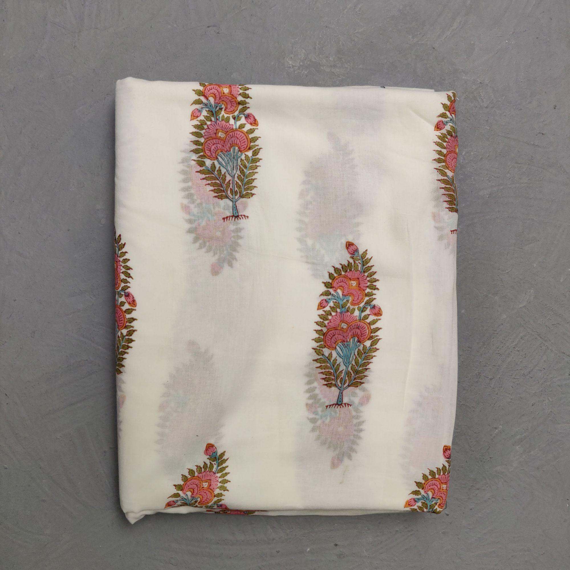 Cotton Handblock Fabric JMF113