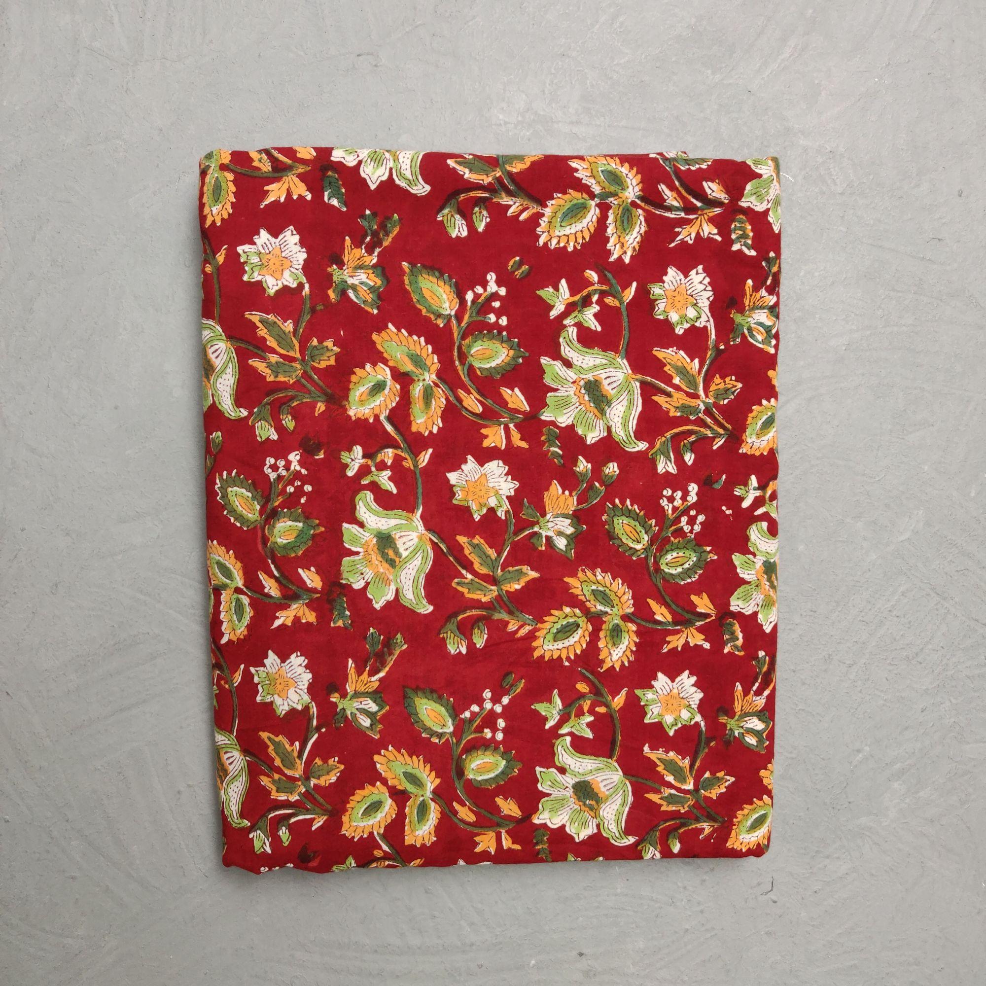 Cotton Handblock Fabric JMF125