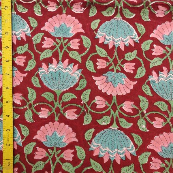 Cotton Handblock Fabric JMF142