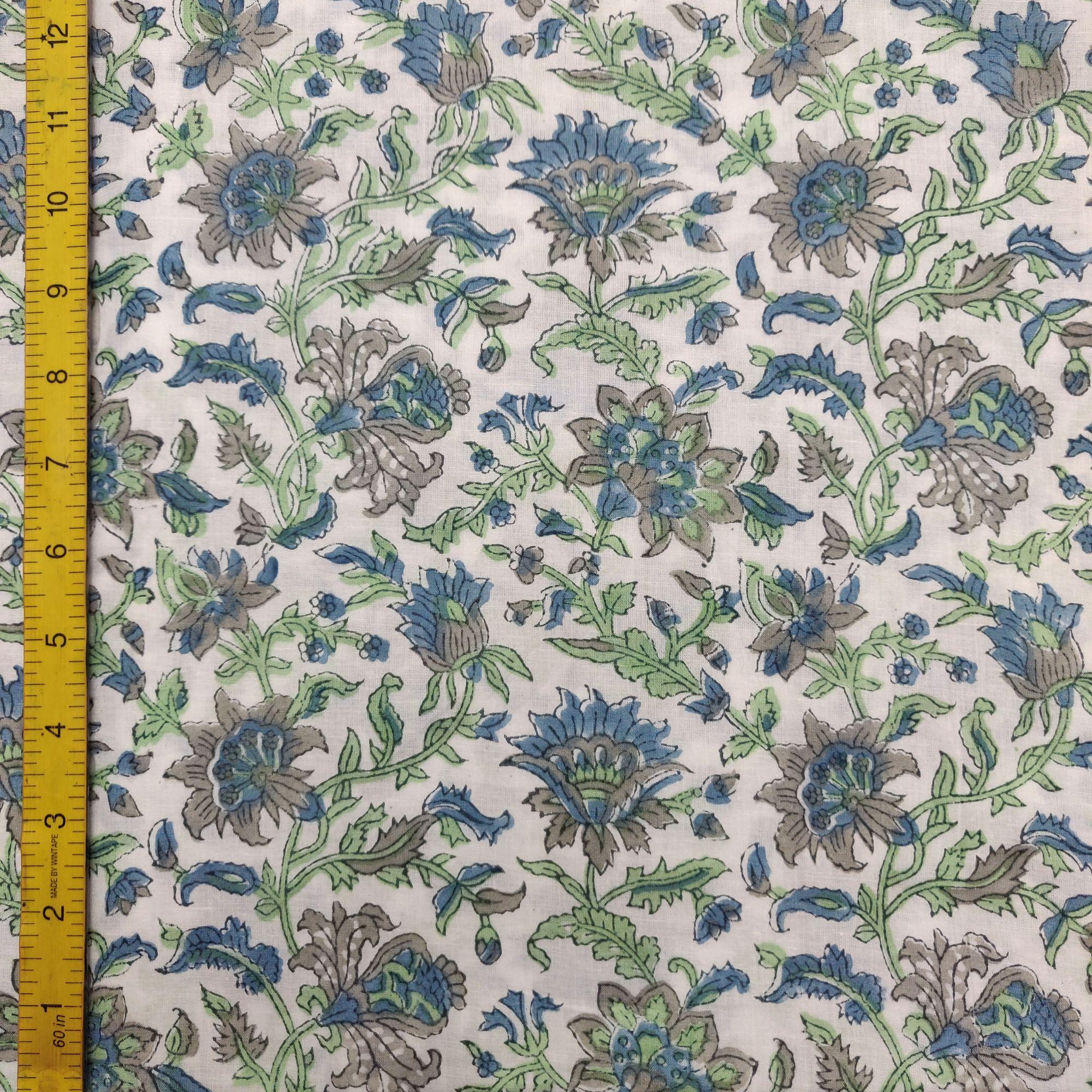 Cotton Handblock Fabric JMF146