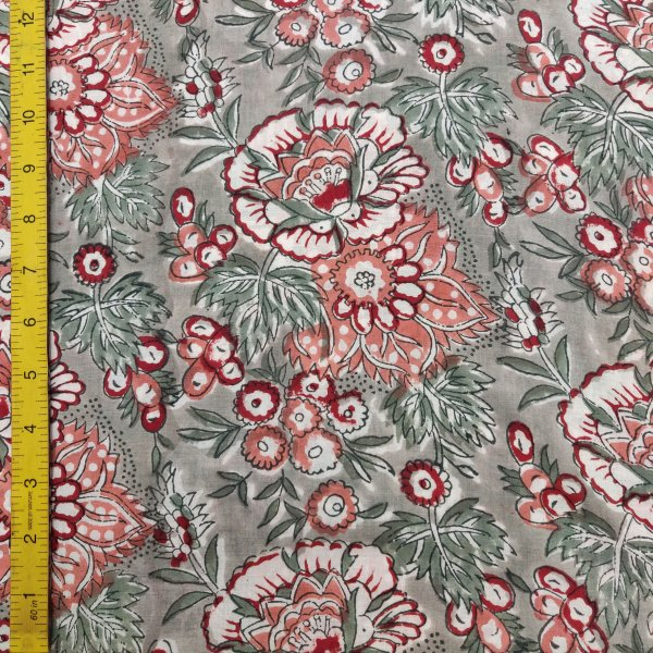 Cotton Handblock Fabric JMF148