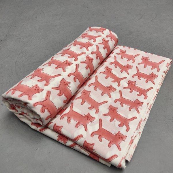 Cotton Handblock Fabric JMF153