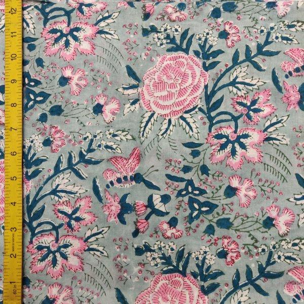 Cotton Handblock Fabric JMF155