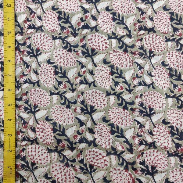 Cotton Handblock Fabric JMF159