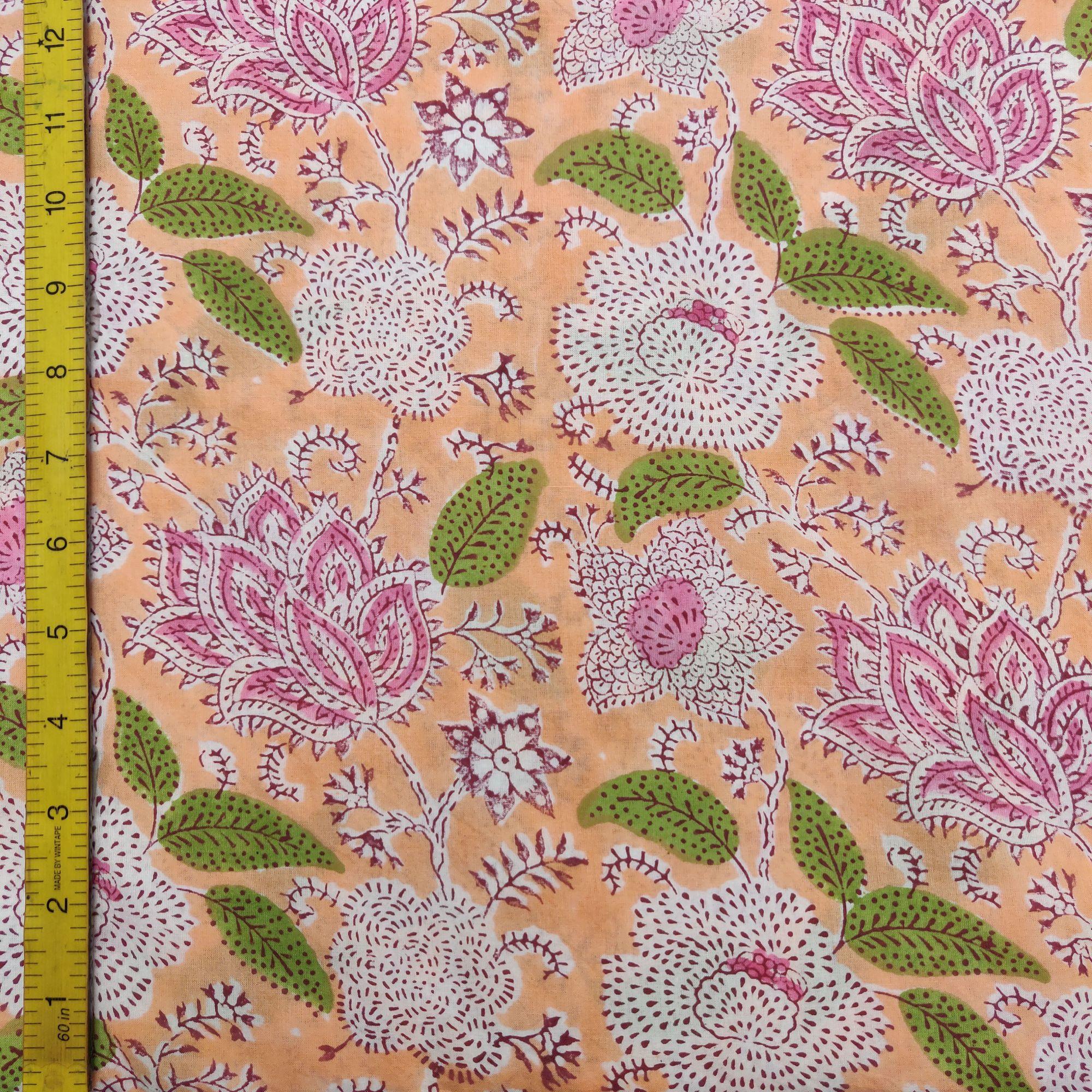 Cotton Handblock Fabric JMF161