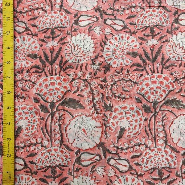 Chanderi Handblock Fabric JMF164