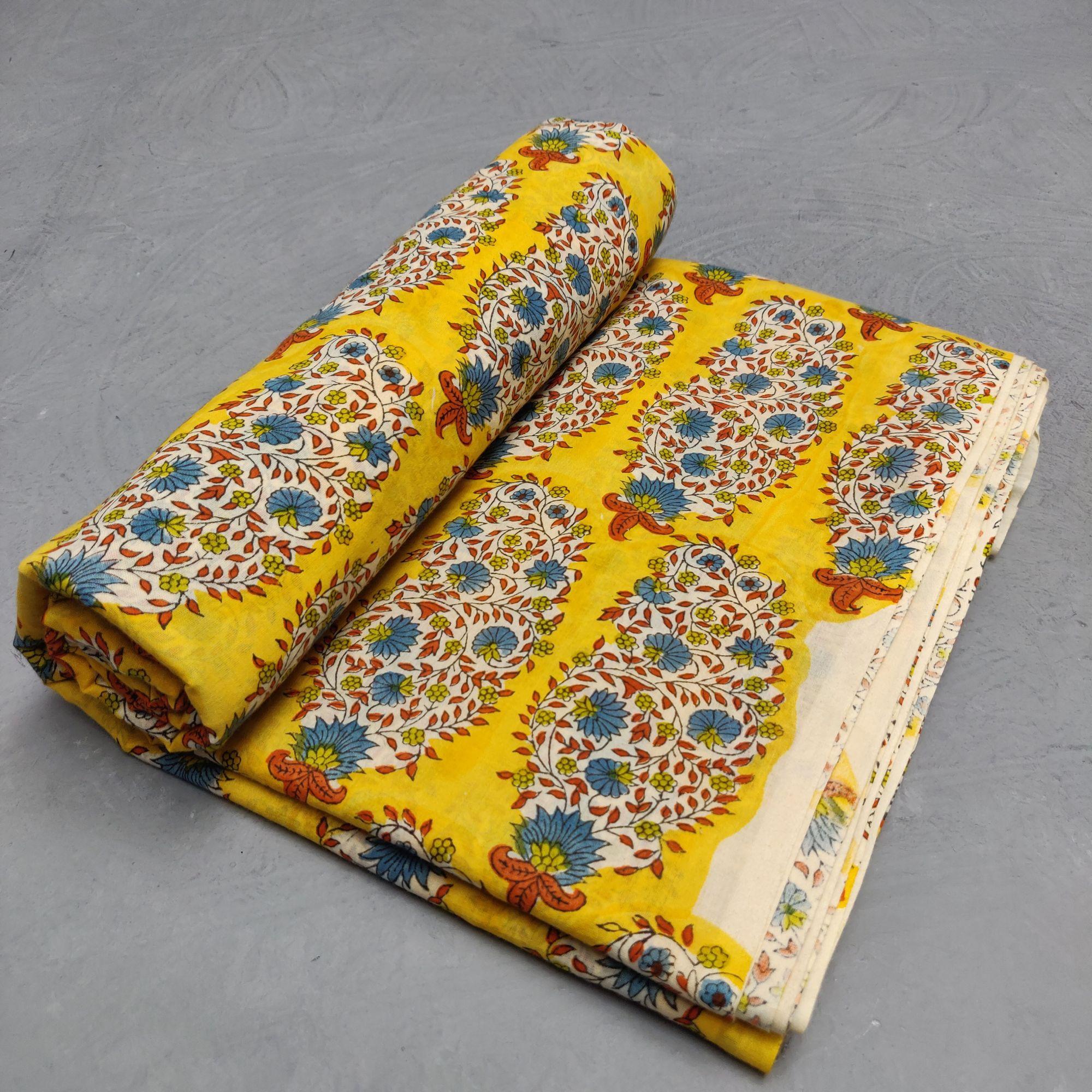 Cotton Handblock Fabric JMF175