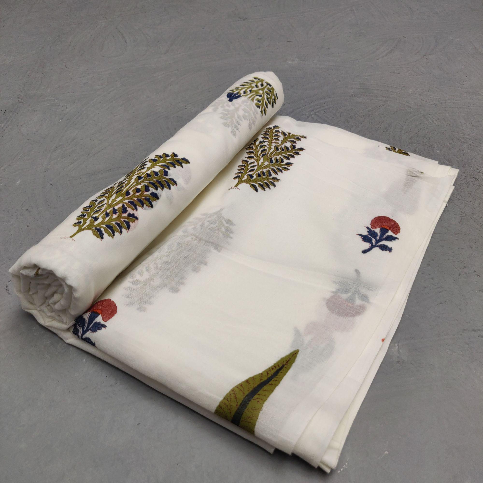 Cotton Handblock Fabric JMF179