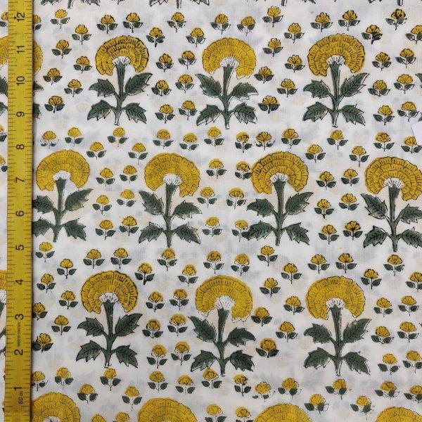 Cotton Handblock Fabric JMF182