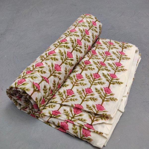 Cotton Handblock Fabric JMF184