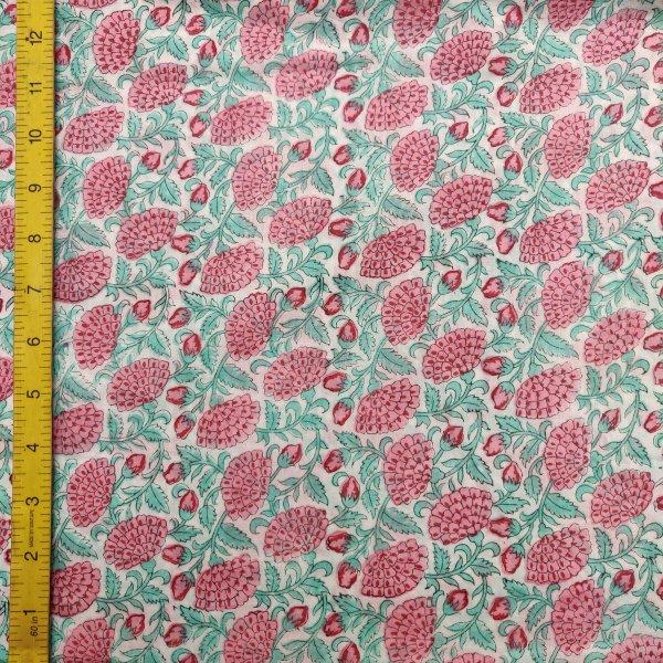 Cotton Handblock Fabric JMF186