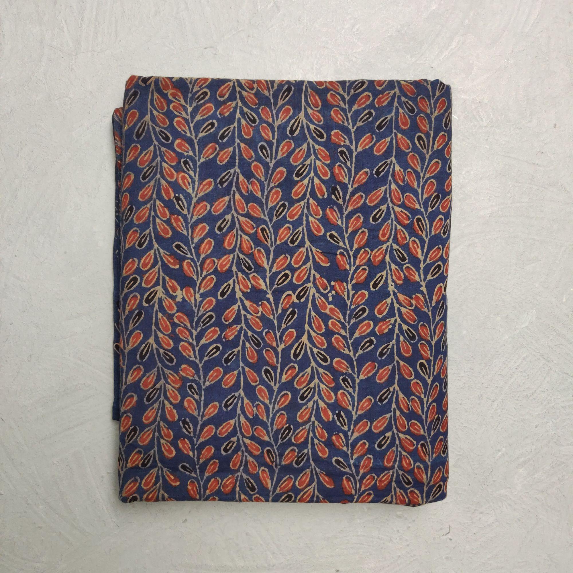 Ajrakh Cotton Handblock Fabric JMF191