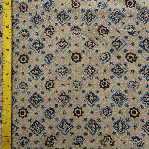 Ajrakh Cotton Handblock Fabric JMF194