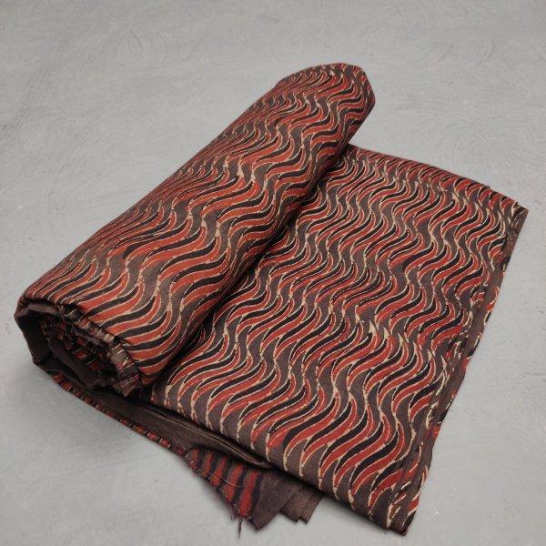 Ajrakh Cotton Handblock Fabric JMF197