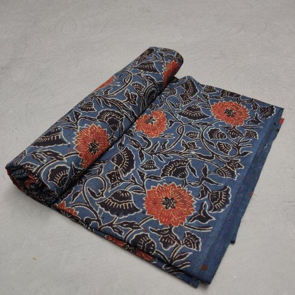 Ajrakh Cotton Handblock Fabric JMF204