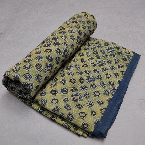 Ajrakh Cotton Handblock Fabric JMF206