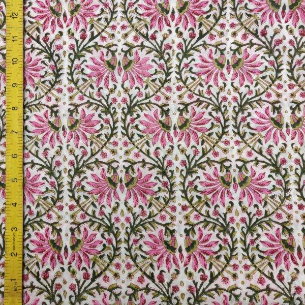 Cotton Handblock Fabric JMF208