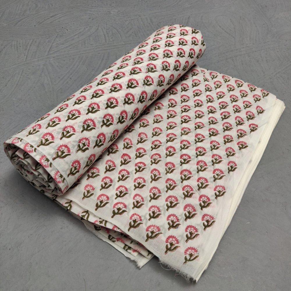 Cotton Handblock Fabric JMF217
