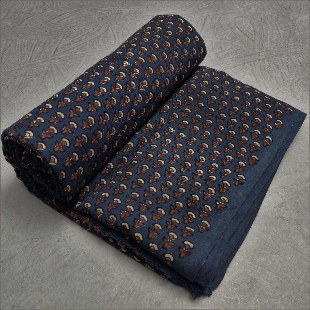 Ajrakh Cotton Handblock Fabric JMF236
