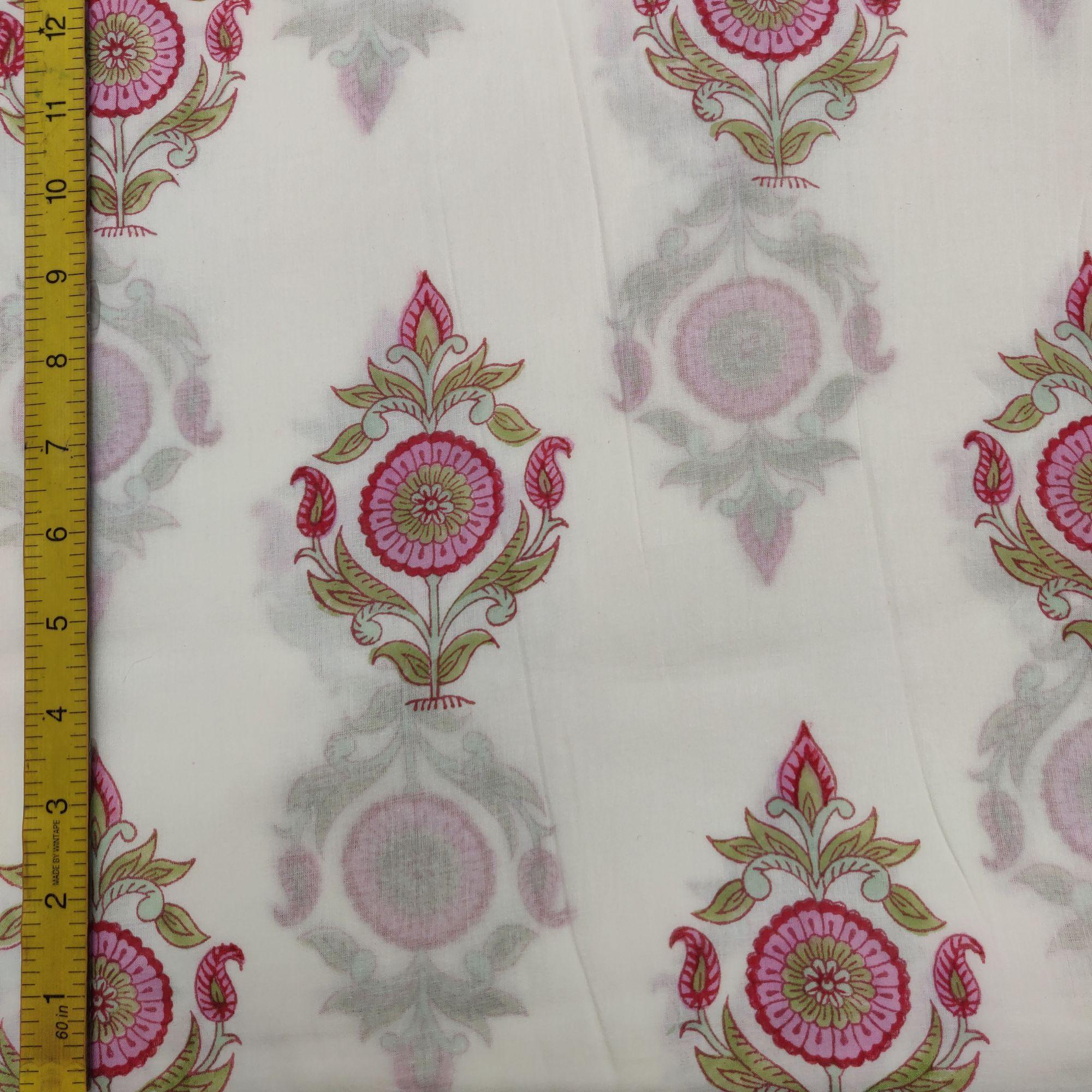 Cotton Handblock Fabric JMF94