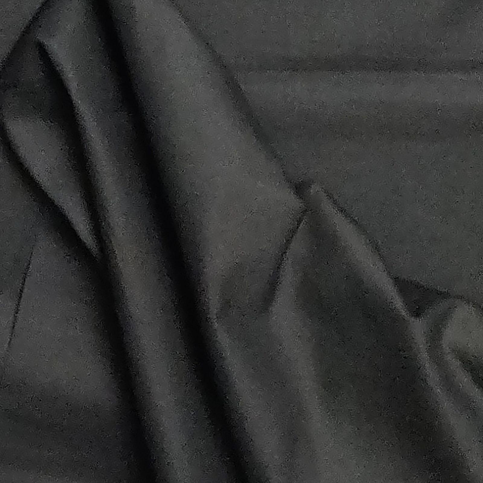 Black Plain Fabric