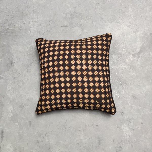 Reversible Handblock Printed Cushion Cover 12X12 C12