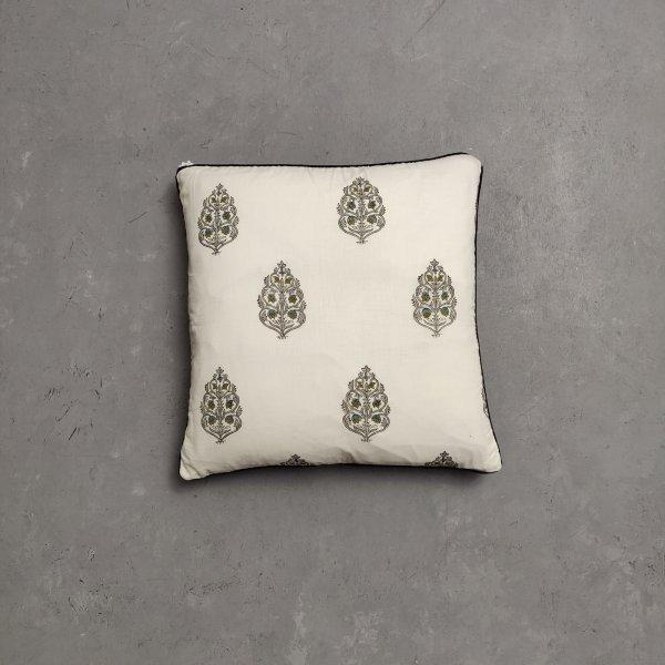 Reversible Handblock Printed Cushion Cover CC114