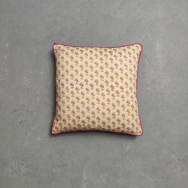 Reversible Handblock Printed Cushion Cover CC120