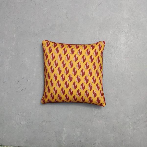 Reversible Multi Handblock Printed Cushion Cover CC62