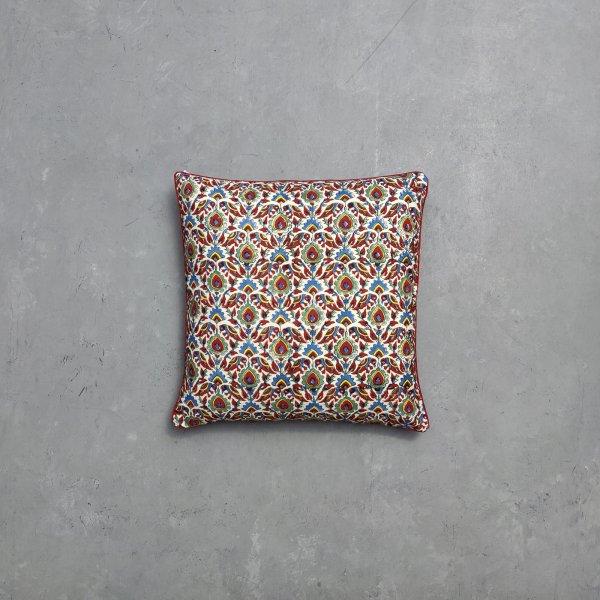 Reversible Multi Handblock Printed Cushion Cover CC69